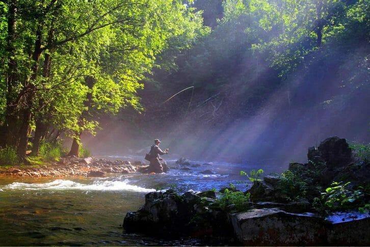 11Fishing on Tara River