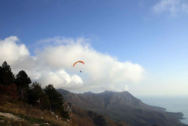 11Amazing view on Paragliding Budva, Brajići