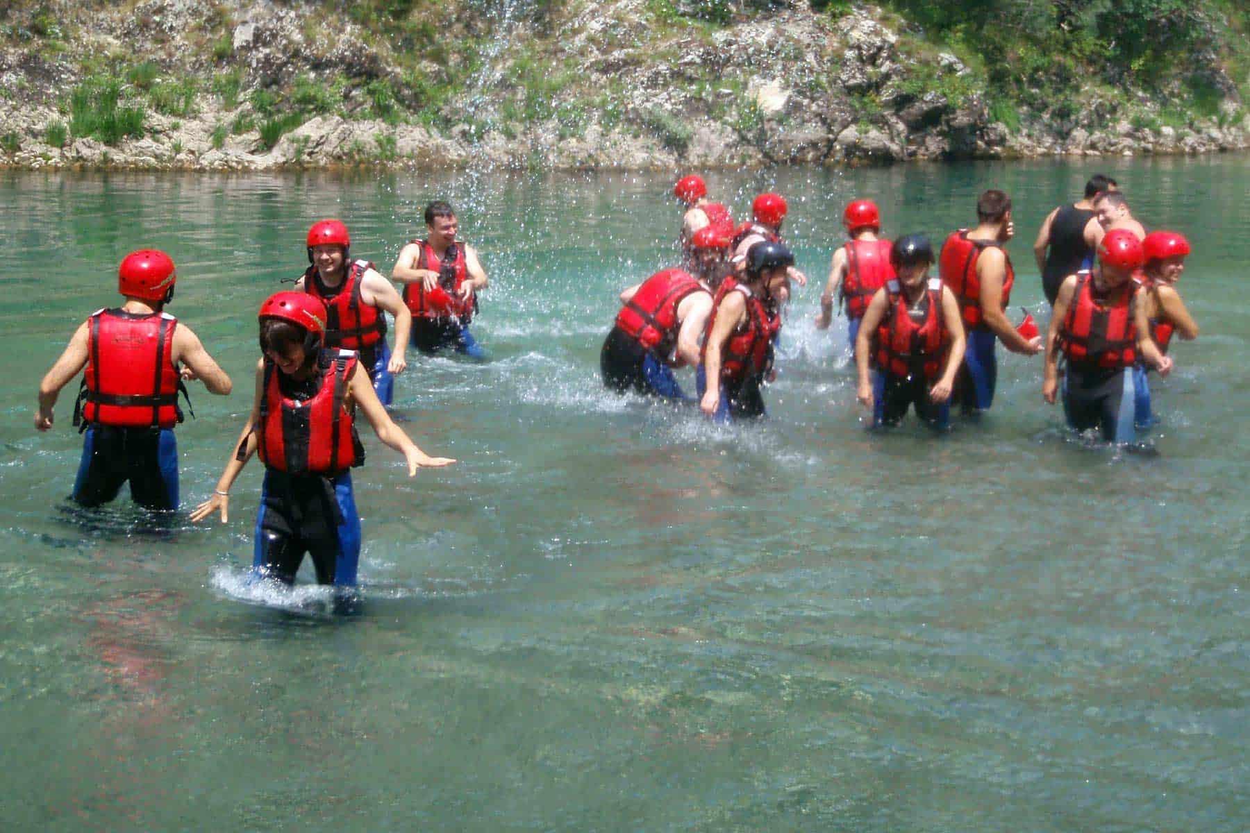 11Swimming break in the river