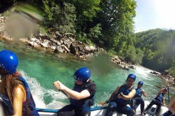 Rafting on river tara with Montenegro Adventure