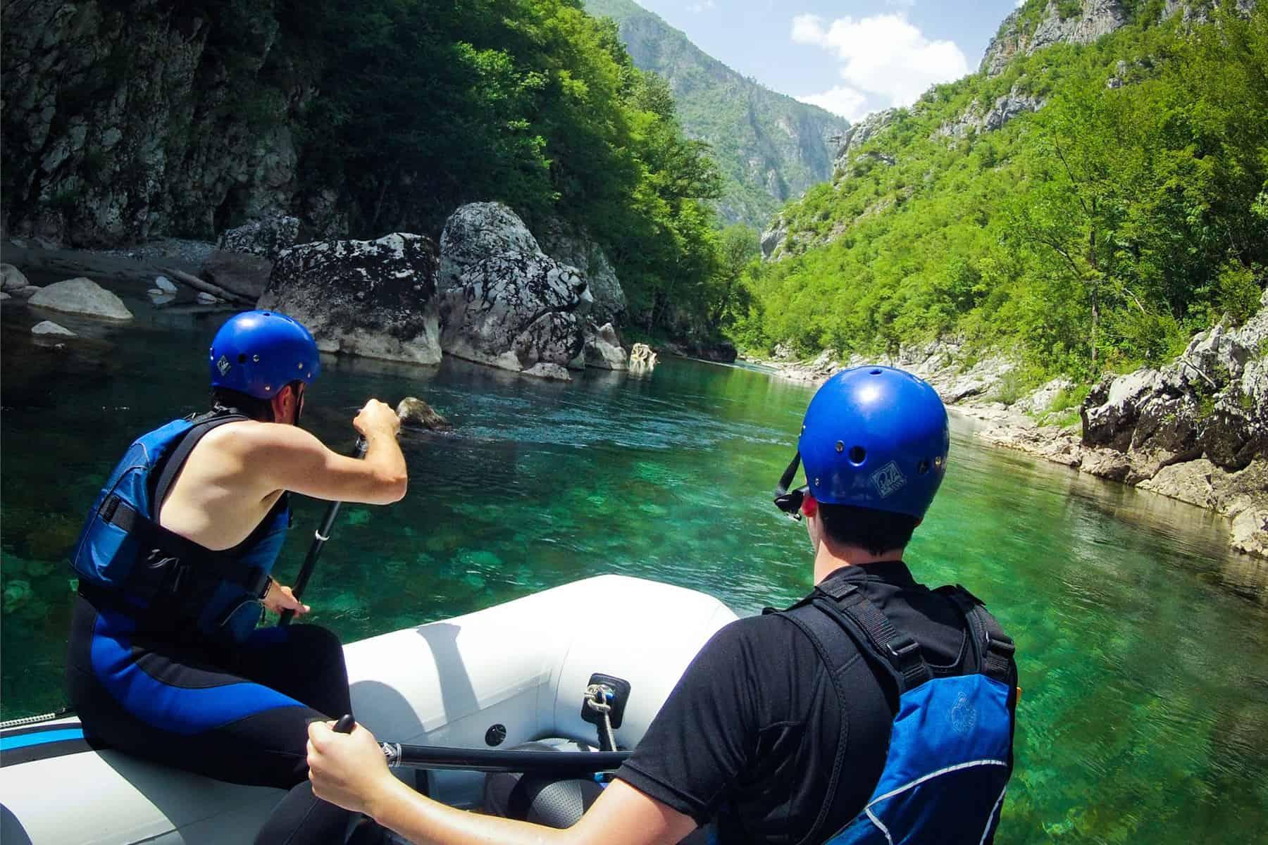 Rafting Scepan Polje Montenegro Adventure