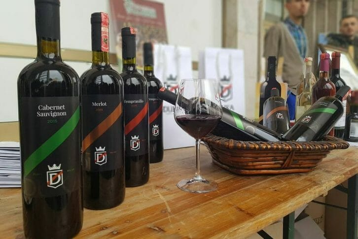 11Wines from Duka winery presented on fair Albania