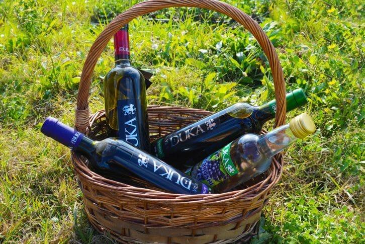 11Wines from Duka winery Albania