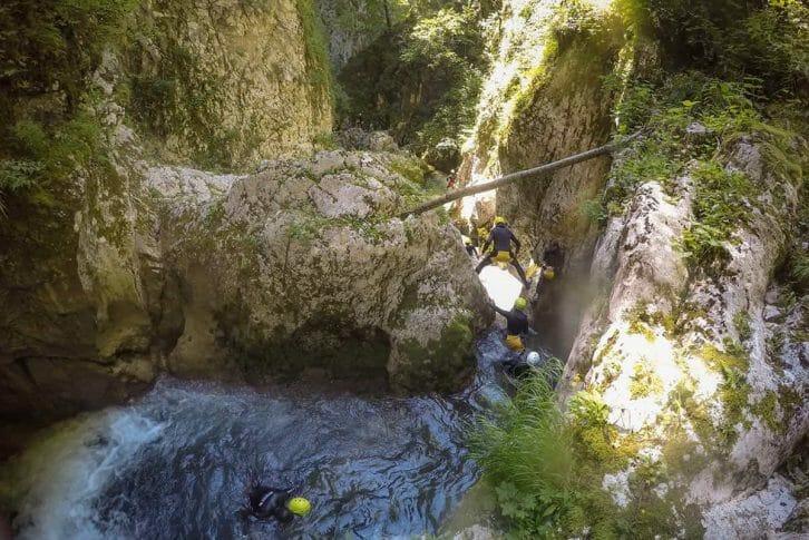 11Fun jumping and swimming canyoning Nevidio, Montenegro