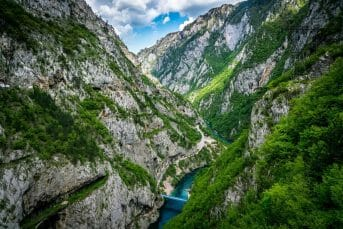 View on Piva river
