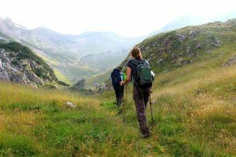 hiking in mrtvica montenegro
