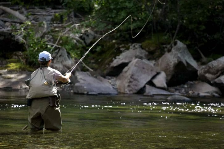 11Fly fishing Tara river
