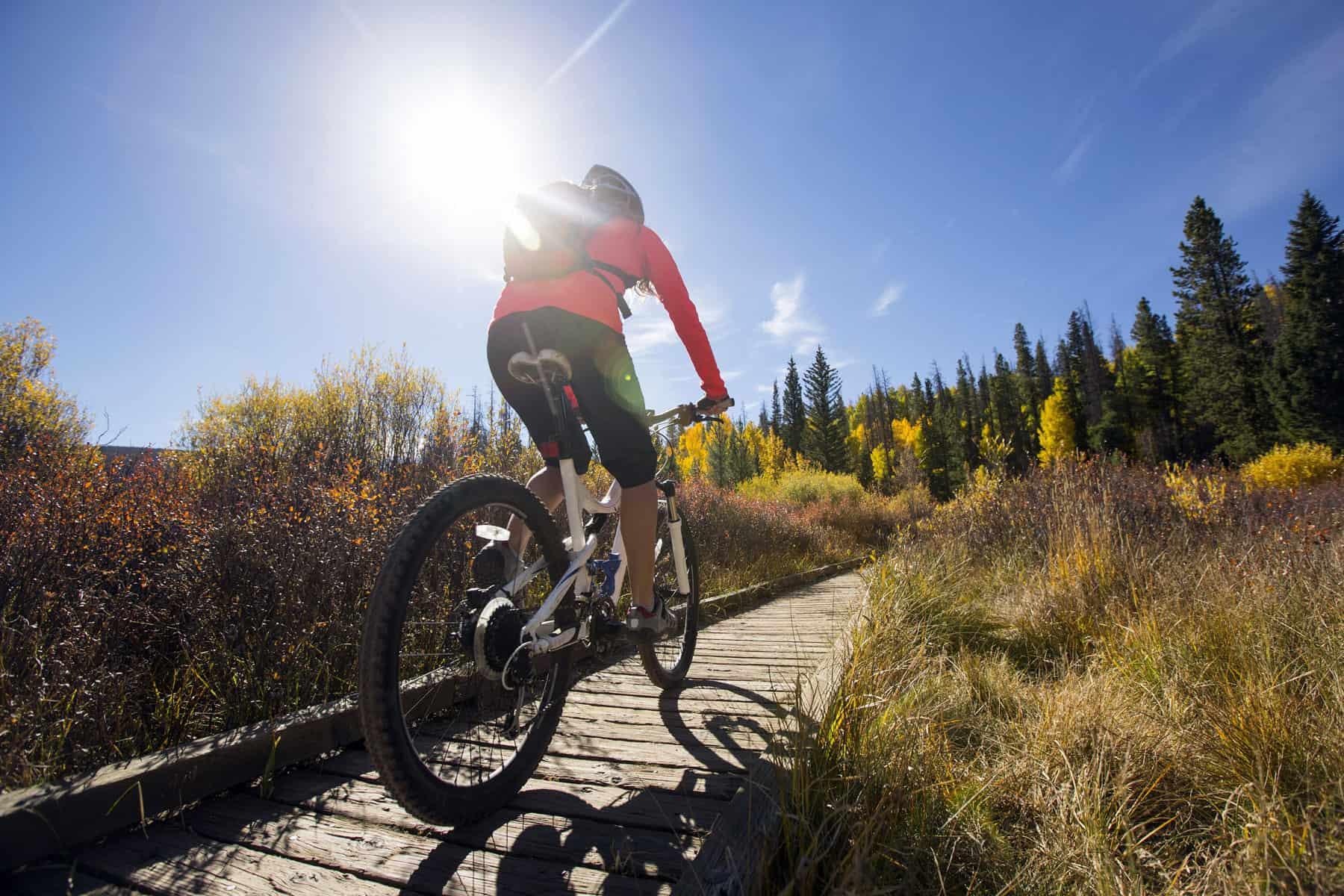 Mountain biking, Glibaći