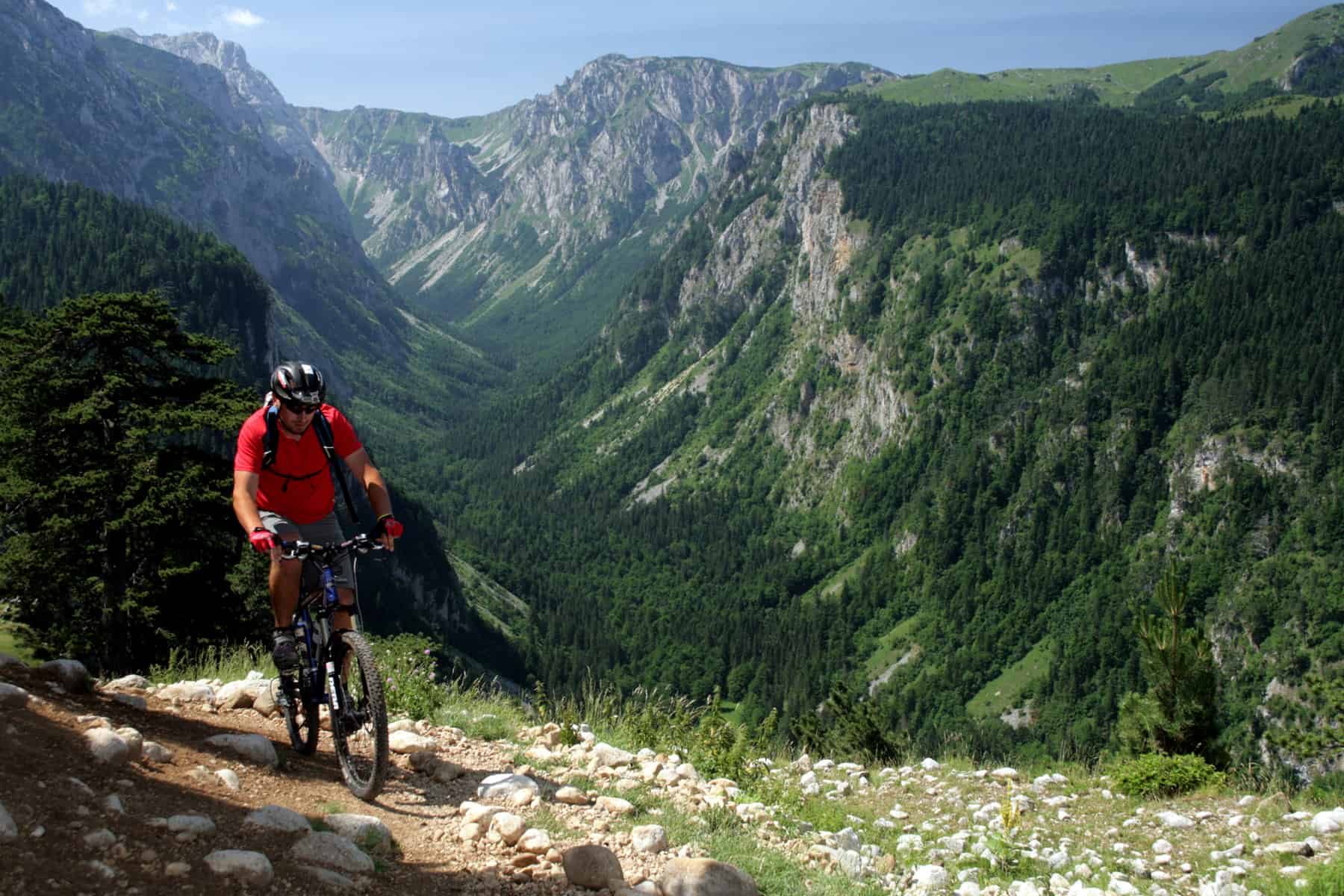 Mountain biking, Vrulja