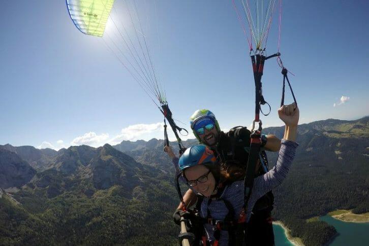 11Tandem paragliding, Savin Kuk