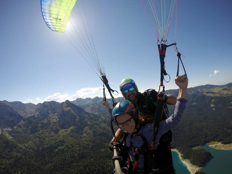 Tandem paragliding, Savin Kuk