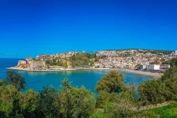 11Panoramic view of the old town in Ulcinj