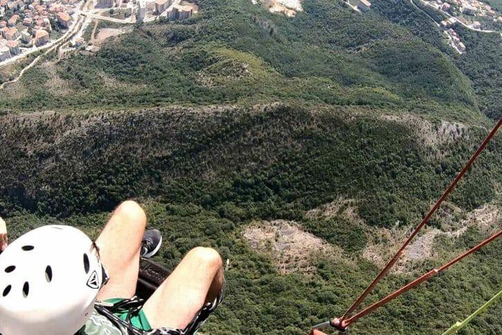 11Paragliding Budva, amazing view