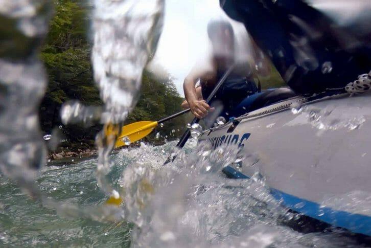 11Rafting Tara rapid water from side