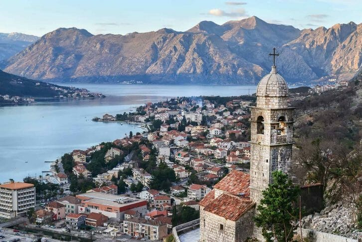 11View over Kotor Old Town in Montenegro