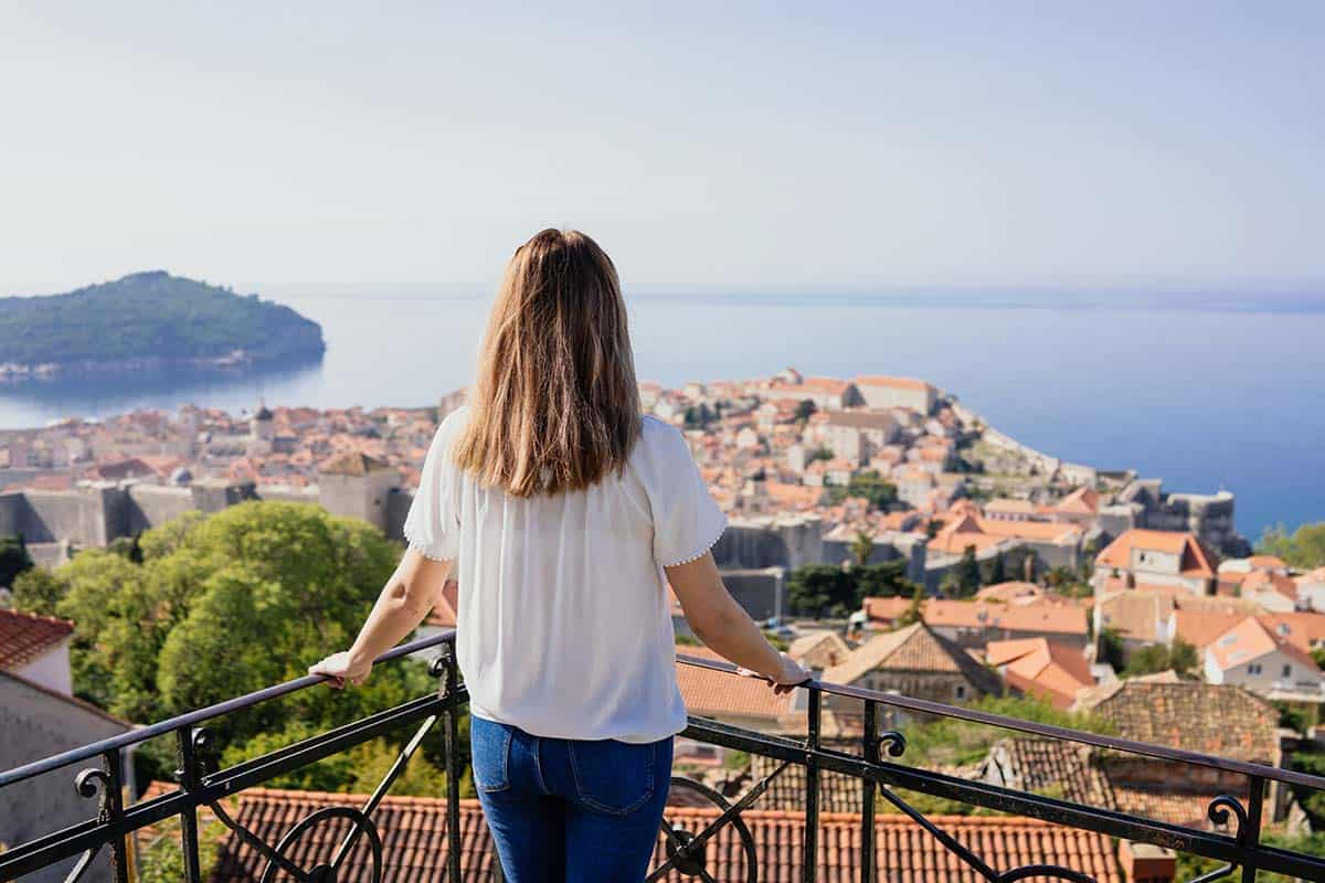 Enjoying the city of Dubrovnik