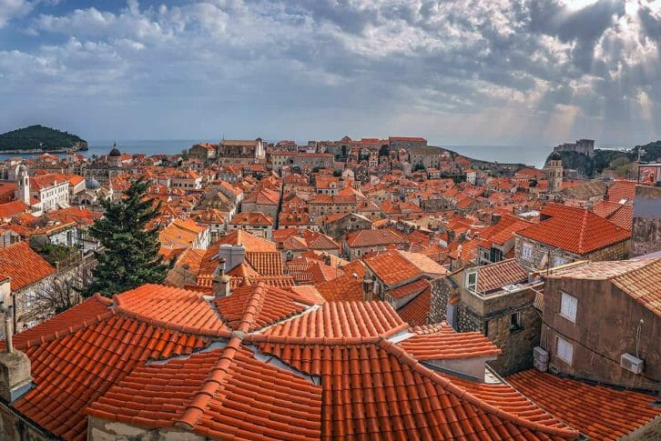11Panorama of Dubrovnik Old Town