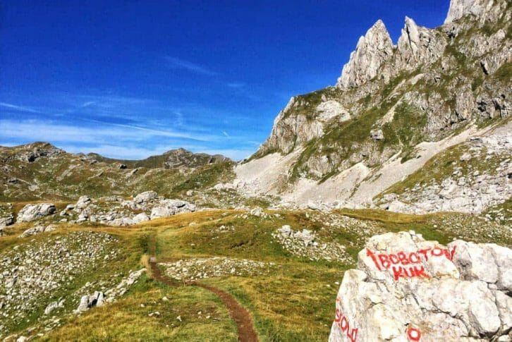 11Durmitor mountain and Bobotov Kuk starting area for hiking