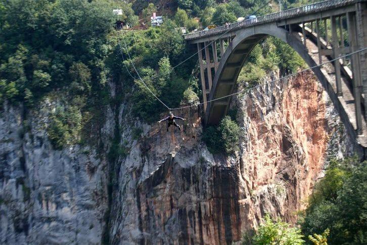 11Extreme zipline Đurđevića Tara Bridge