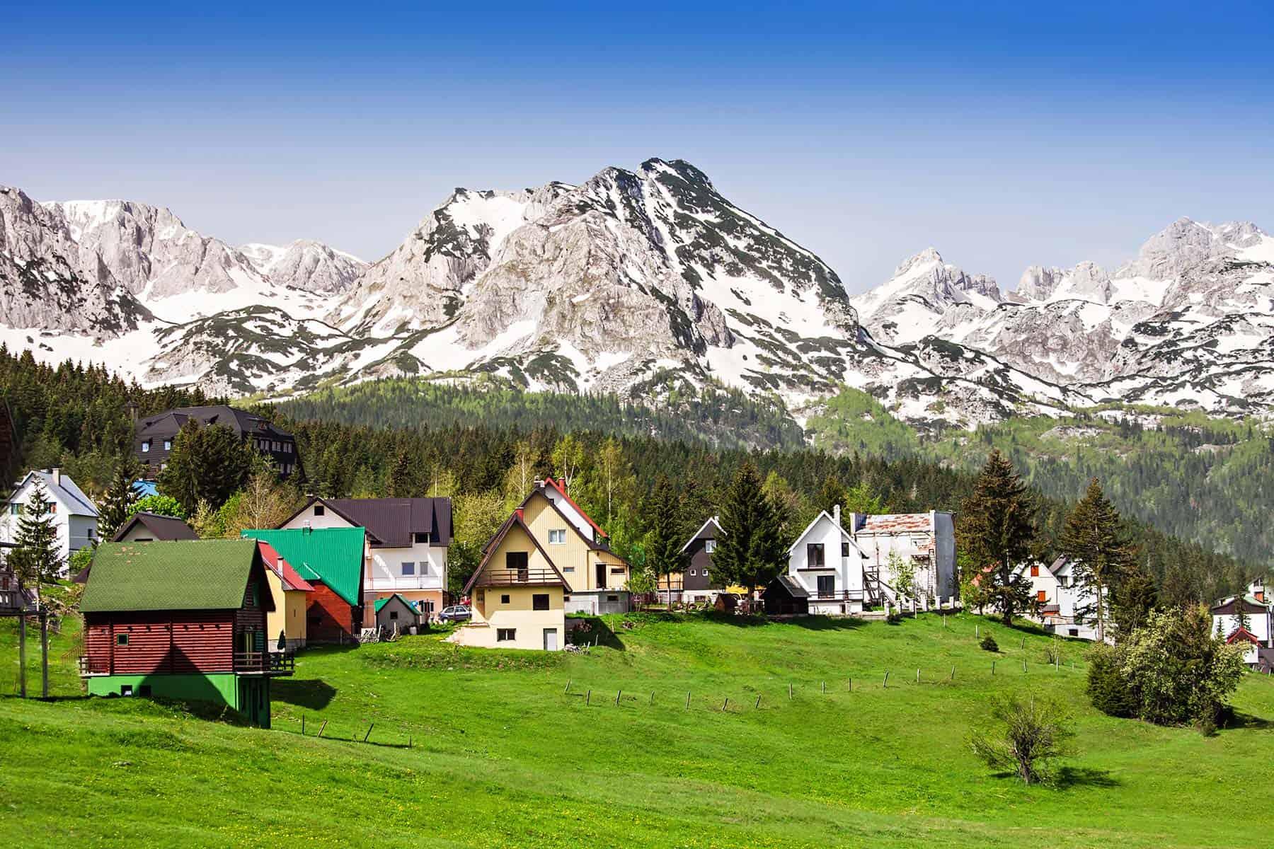 Cozy village in Zabljak mountain area