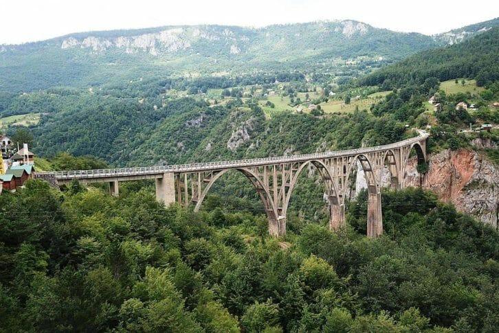 11Tara Djurdjevica bridge in Durmitor National Park