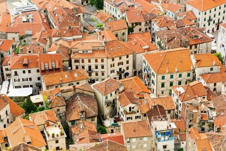 11Old Town roofs in Kotor