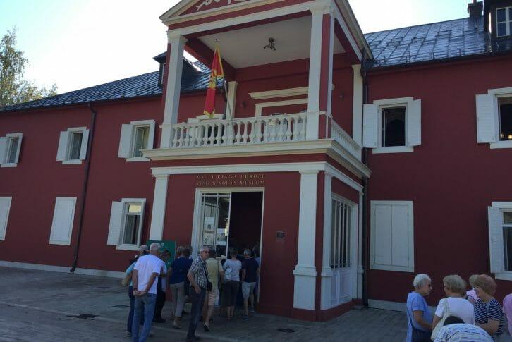 11Entrance of King Nikolas Museum Cetinje