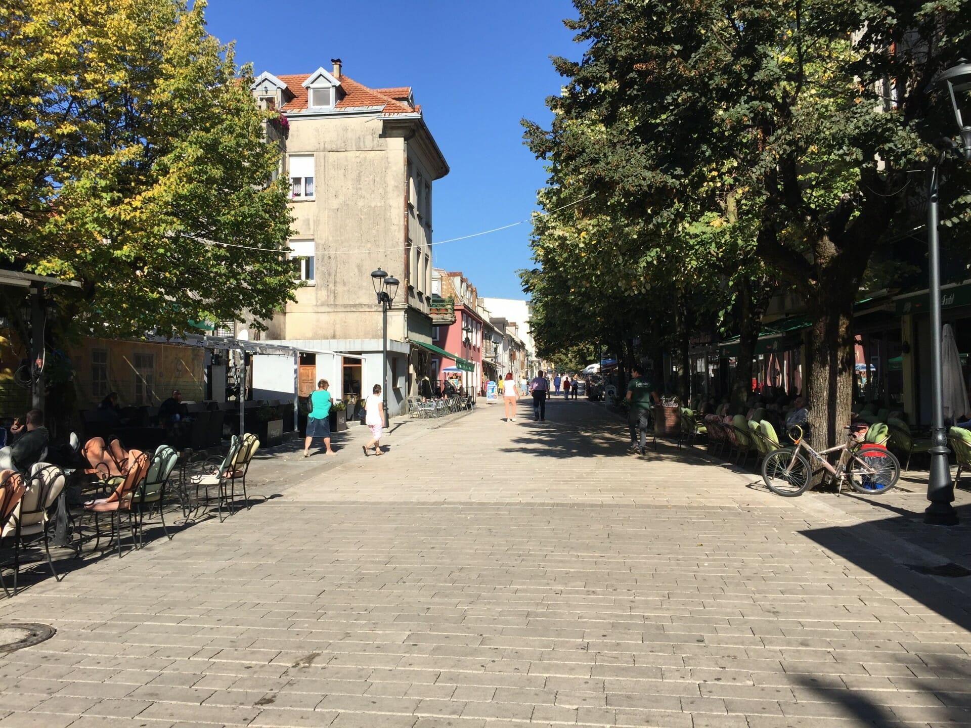 Old Royal Capital Cetinje - Charming street