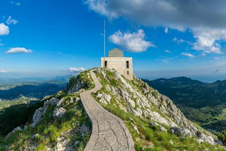 11Njegosh Mausoleum top high picturesque view