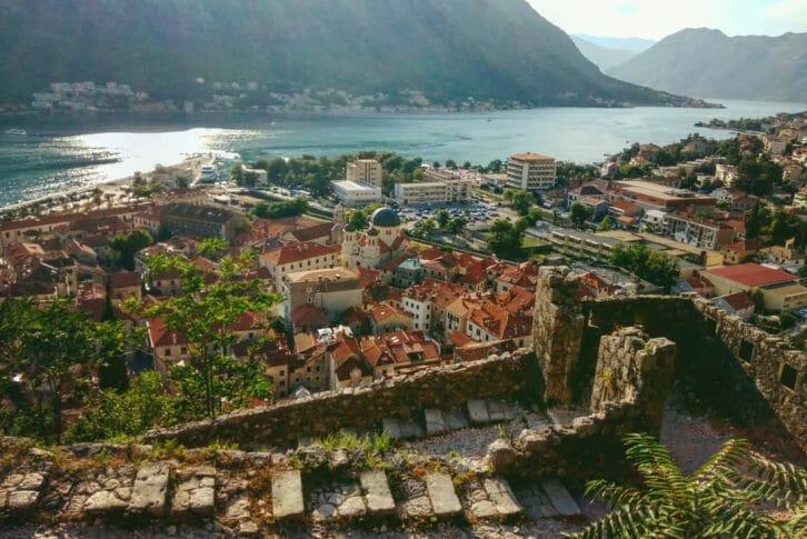 11kotor fortress bay of kotor Montenegro