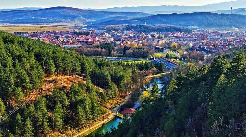 Park Vodice, Pljevlja Montenegro