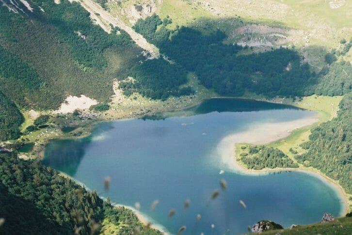11Heart shaped Tnovacko Lake NP Sutjeska Bosnia and Herzegovina
