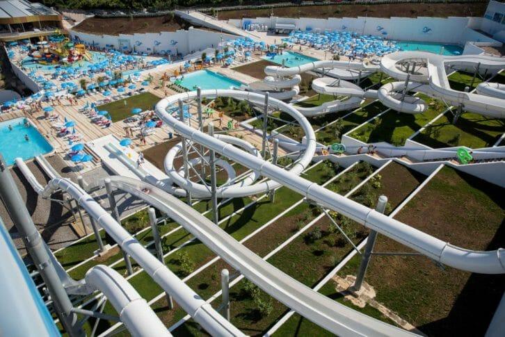 11Aquapark in Budva Montenegro