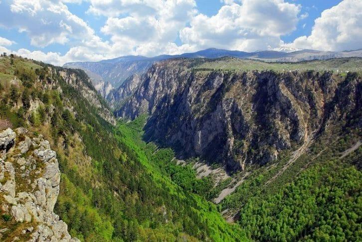 11Montenegro Durmitor canyon Sušica
