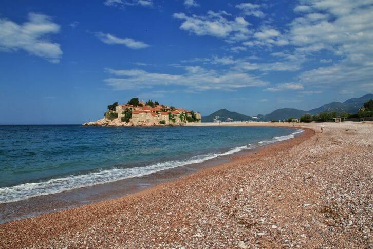 11Sveti Stefan island in Adriatic Sea, Montenegro