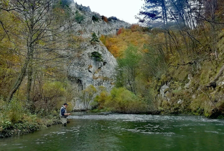 Lipljen fly fishing Cehotina - Rabitlje